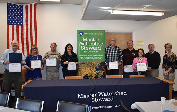 Master Watershed Steward Program: York Class of 2017