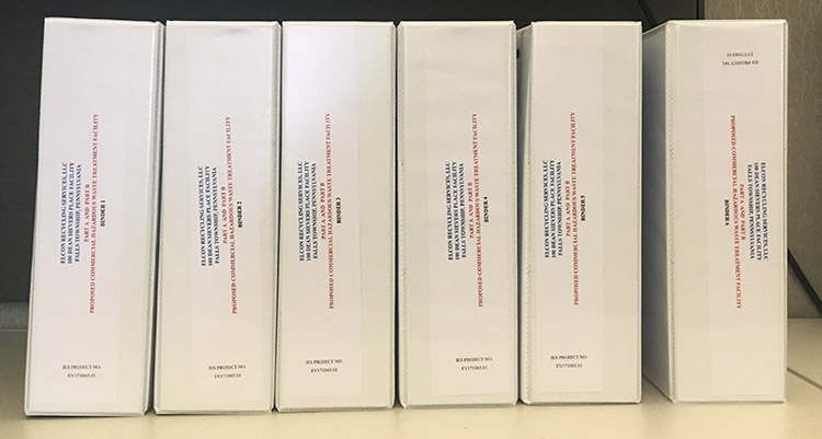 Photo of Elcon Application binders