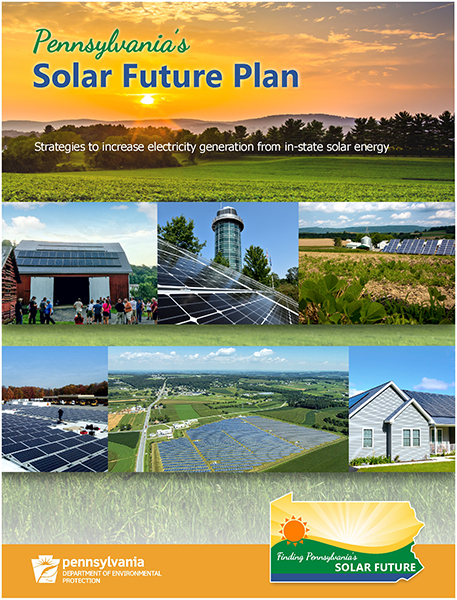PA Solar Future Plan cover