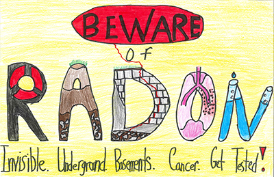 Radon Poster Contest First Place Winner