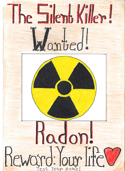 Radon Poster Contest Second Place Winner
