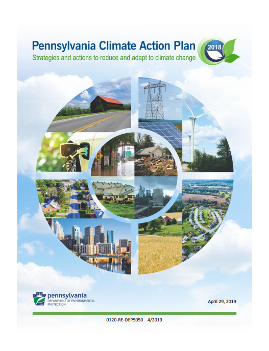 The Climate Action Plan cover page