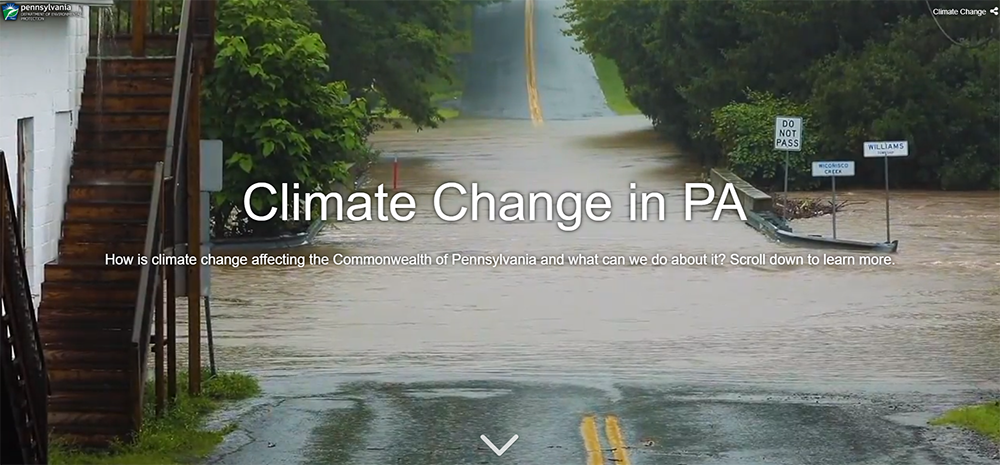 Climate Change Story Map