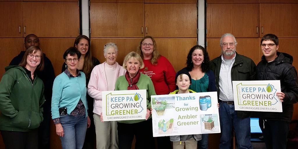 Ambler, PA: A Small Borough Thinking Big on Stormwater with a Growing Greener Grant