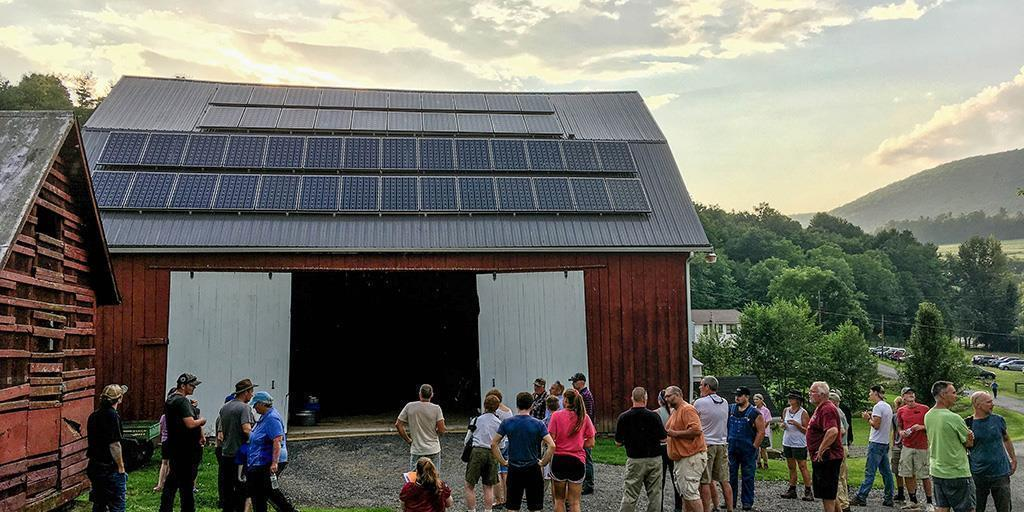 With Solar Panels, Barbour Family Farm Is Shining Example of Conservation