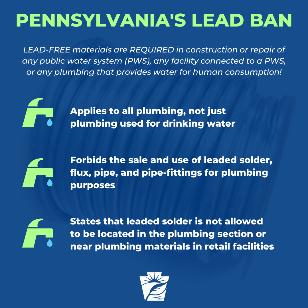 Pennsylvania Lead Ban Social Media Graphic